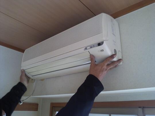 エアコン 回収方法について